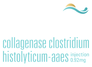 Logo: Qwo | Collagenase clostridium histolyticum-aaes. Injection.
